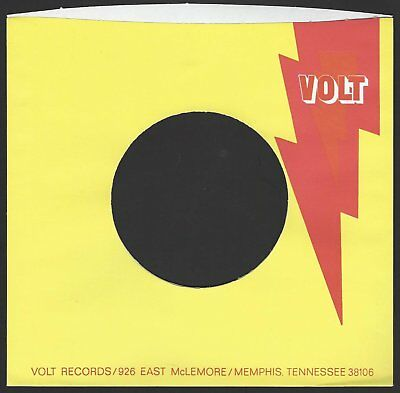 VOLT (yellow) REPRODUCTION RECORD COMPANY SLEEVES - (pack of 10)