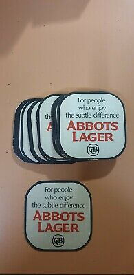 ABBOTS LAGER CUB FOR PEOPLE WHO ENJOY THE SUBTLE DIFFERENCE COASTER x22