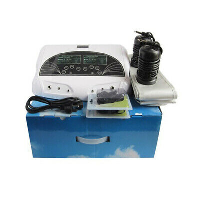 New Dual User Foot Bath Spa Machine Ionic Detox Cell Cleanse Machine Anion LCD