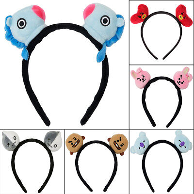 Kpop BTS Headband Hair Band Bangtan Boys Girls Cooky Chimmy Tata Shooky Gift UK