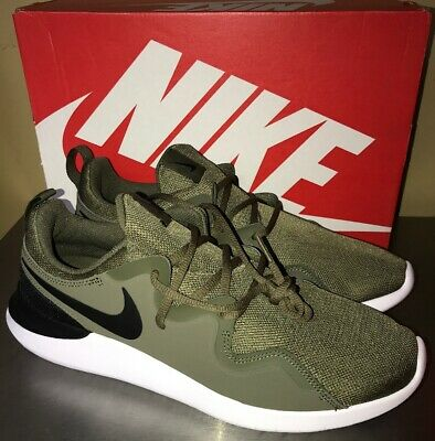 445bffd6a97d0 NIKE TESSEN RUNNING SHOES MENS SZ 10.5 Olive Green ATHLETIC   NEW AA2160 200