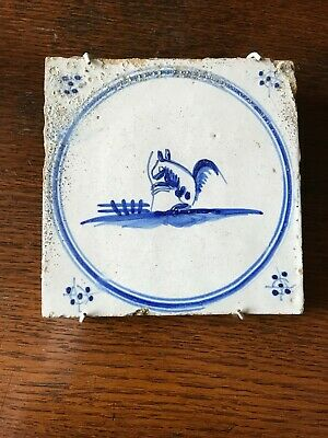 17 th Century Delft tile