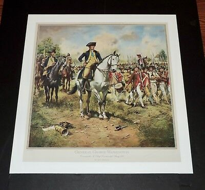 Don Troiani - General George Washington - Collectible Revolutionary Print