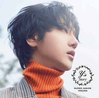 New SUPER JUNIOR YESUNG STORY First Limited Edition CD Card Japan AVCK-79553