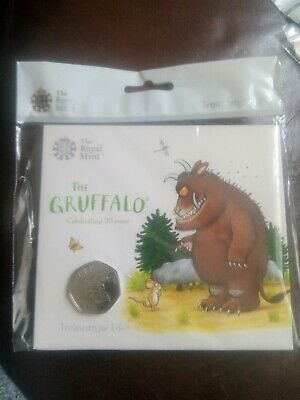 2019 The Gruffalo 50p Coin Brilliant Uncirculated Royal Mint Pack
