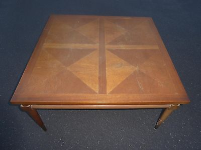 Rarest Rare Real Antique Duck With Cub Style Coffee Table Heavy