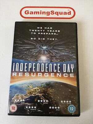 Independence Day Resurgence DVD, Supplied by Gaming Squad