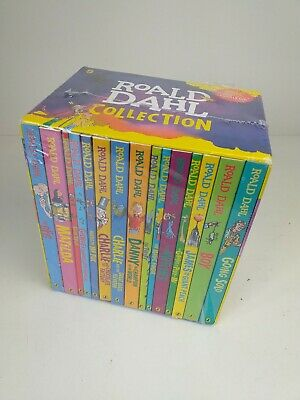 Brand New Roald Dahl  Box Set  Collection 15 Books,The Twist, Boy