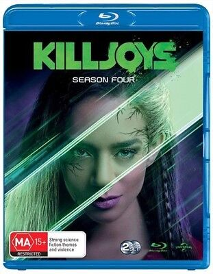 Killjoys : Season 4 (Blu-ray, 2-Disc Set) NEW