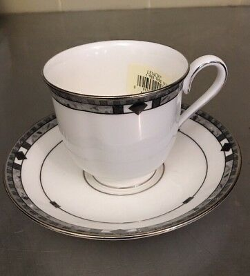 Lenox Debut Collection KARA Fine Bone China USA Tea Cup & Saucer