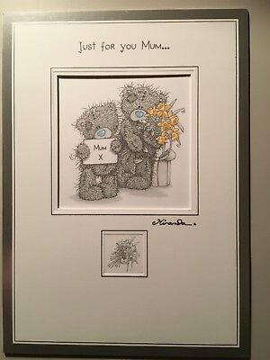 Me To You Tatty Teddy Mum Daffodils Mothers Day Card And Envelope