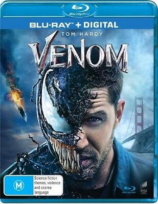 Venom (Blu-ray, 2019) NEW