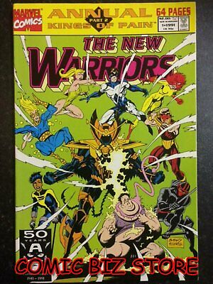 New Warriors Annual #1 (1991) 1St Printing Bag & Boarded Marvel Comics