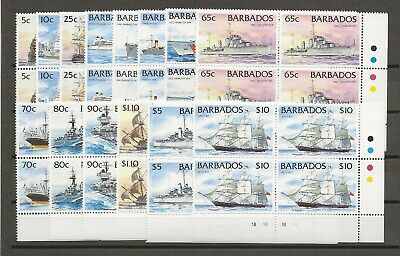 BARBADOS 1994 SG 1029A/42A  MNH Blocks Cat £150
