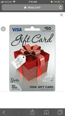 50 Vanilla Gift Card Works at amazon Best Buy target walmart Ross and more!!!