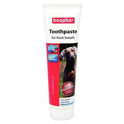 Beaphar Double Action Dog Toothpaste 100 grams hygiene care for dogs teeth