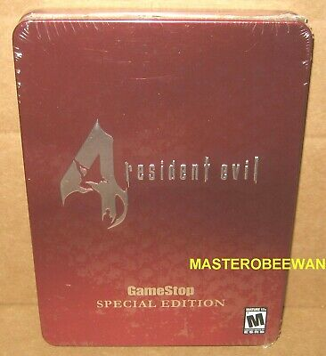Resident Evil 4 Special Collector's Tin Edition (GameCube, 2005) GC Wii New