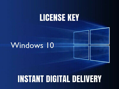 Windows 10 Pro Professional 32/64 bit Multilanguage Original License Key