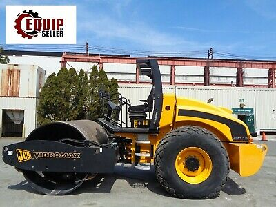 NEW UNUSED JCB VM115 Single Smooth Drum Vibrating Roller Compactor