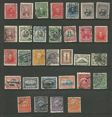 Early 1900s Collection Lot 3 - 216 Stamps Mint Hinged & Used 6 Scans CV $127.30