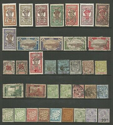 Early 1900s Collection Lot 13 - 182 Stamps Mint Hinged & Used 6 Scans CV $170.45
