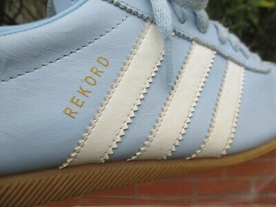 Rare Vintage 2003 Adidas Originals Rekord Baby Blue Mens Trainers Size Uk 7