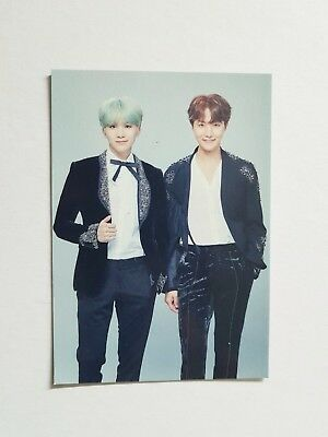 "K-POP BTS 2018 Concert ""WINGS TOUR THE FINAL"" Official Limited Suga JH Photocard"