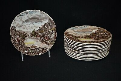 Johnson Brothers Olde English Countryside Set of 13 Bread & Butter Plates