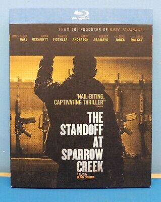 The Standoff at Sparrow Creek (Blu-ray, 2019) Complete set MINT with Slipcover!!
