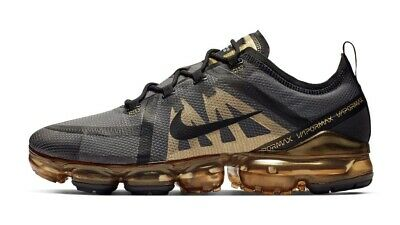 New 2019 Nike Air Vapormax Black Gold Sizes 8-11