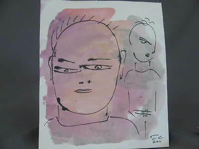 2 Tom Cramer drawings Lot #23 Pacific Northwest Portland Oregon Artist abstract
