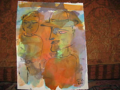 3 Tom Cramer drawings Lot #5 Pacific Northwest Portland Oregon Artist abstract