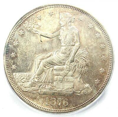 1876-CC Trade Silver Dollar T$1 Coin - ICG MS62 (UNC BU) - $10,470 Guide Value!