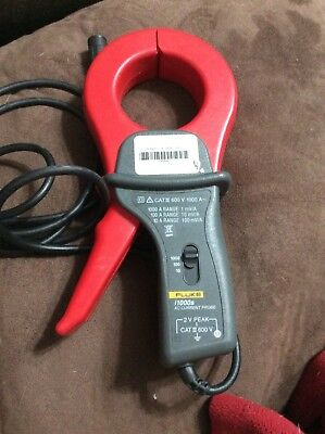 Fluke 1000s Amp AC Current Probe for Oscilloscope