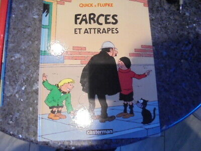 belle reedition quick et flupke farce et attrape