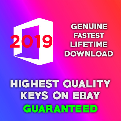 Microsoft Office 2019 | Instant Delivery | Professional Plus | Product Key