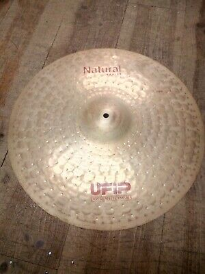 """Used 20"""" Ufip Natural Series Crash Cymbal 1 Month Old"""
