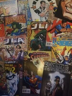Bundle Of 25 Comics Random, Batman, Superman, Avengers, Hulk, Spiderman Etc...