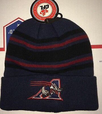 Montreal Alouettes CFL Team Thick Winter Knit Beanie hat Canadian FOOTBALL Canad
