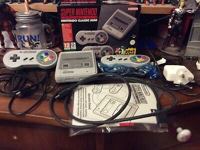 Super Nintendo Mini Console, boxed, complete