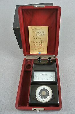 Vintage Microsix Microscope Light Meter