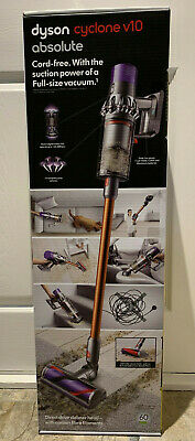 Dyson Cyclone V10 Absolute Cordless Vacuum Cleaner - Gold