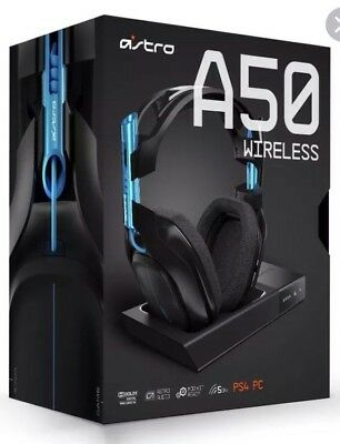 Astro A50 Gen 3 Wireless 7.1 Gaming Headset With Base Station For PS4 & PC