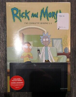 Rick & Morty: Complete Seasons 1-3 DVD