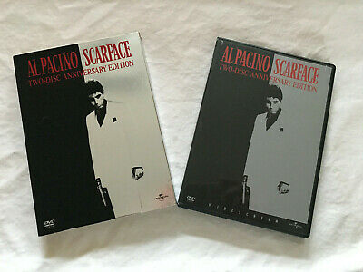 Scarface (DVD, 2003, 2-Disc Set, Widescreen Anniversary Edition) al pacino