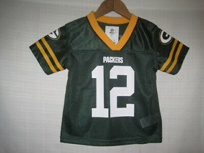 ee2fd708d26 Green Bay Packers Aaron Rodgers Football Jersey boys baby Toddler 3T NWOT  NEW