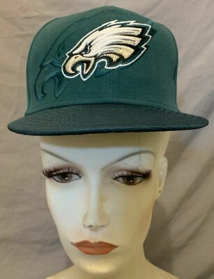 cb3dc2391b71fc New - Nfl -New Era 59Fifty Philadelphia Eagles Fitted Cap Youth Size 6 3/