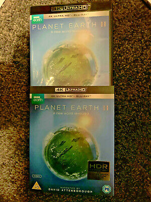 Planet Earth Ii Uk 4K Uhd And Blu Ray With Slipcase Mint Condition
