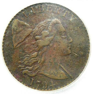 1794 Liberty Cap Large Cent 1C S-41 R3 - Certified ICG VF30 - $3,000 Value!