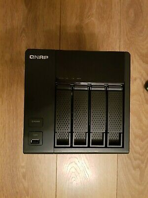 QNAP TS-412 4 Bay NAS (Diskless) Perfect Condition